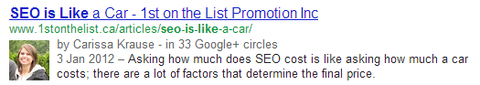 car SEO is like.....everything in the world except Gene Wilder