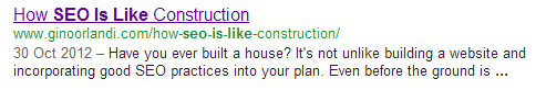 construction SEO is like.....everything in the world except Gene Wilder