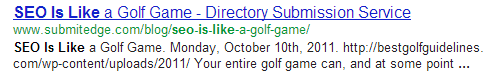 golf SEO is like.....everything in the world except Gene Wilder