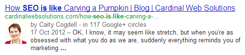 pumpkin SEO is like.....everything in the world except Gene Wilder