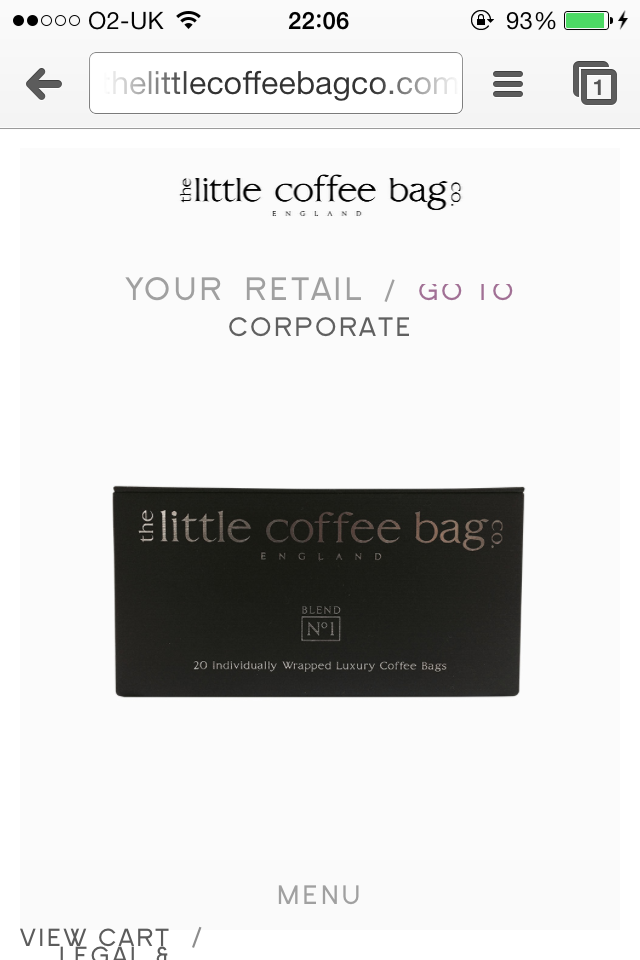 Was 8 Now 9 Website Lessons Learnt From The Little Coffee